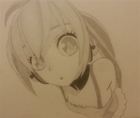 Anime Drawing by Nightcore Headphones Anime Drawing