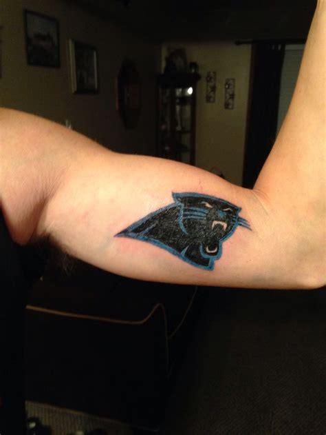 carolina panthers tattoo 1000 images about carolina panthers tattoos on