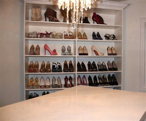 custom shoe shelves design ideas
