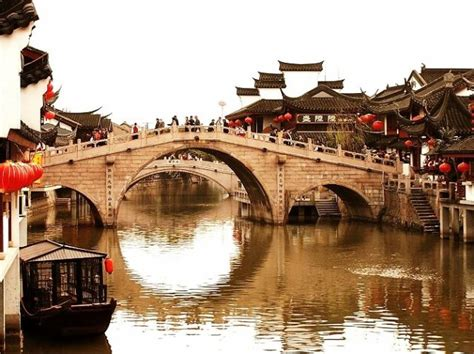 Define Tree qibao ancient town shanghai sightseeing attractions for