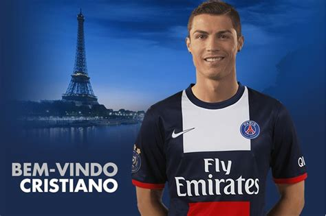 Official Psg Signs Cristiano Ronaldo For E100million | real madrid s cristiano ronaldo psg s president have met