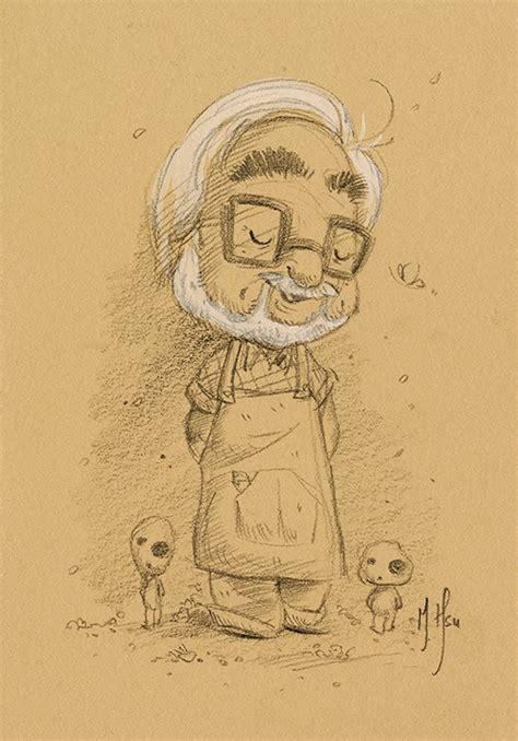 morning strolls sketches of hayao miyazaki studio ghibli