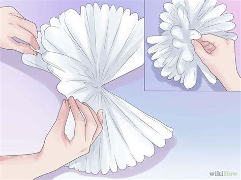cara membuat bunga pom pom kertas krep jual pom pom bola dekorasi bola bunga kertas krep in s