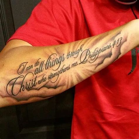 bible script tattoos scripture tattoos for ideas and designs for guys