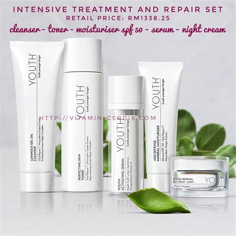 Harga Skincare shaklee youth skincare harga dan review vitamin cerdik