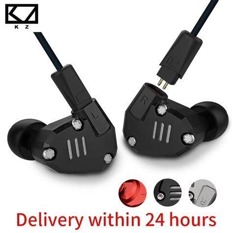 Stereo Earphone Headset Sport Detachable Cable Knowledge Zenit kz zs6 eight driver earphone dynamic and armature in ear hifi stereo sport headset detachable