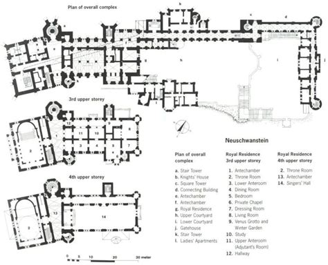 neuschwanstein castle floor plan 1000 images about building schloss neuschwanstein on