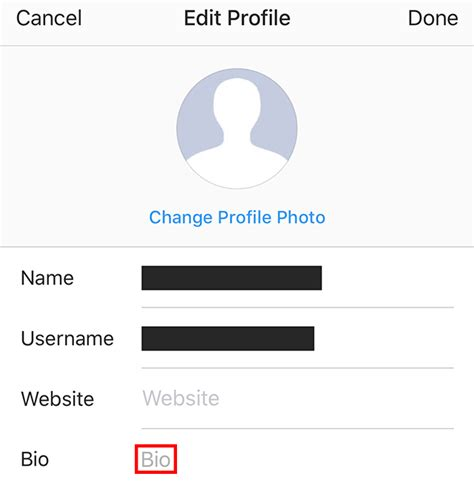 bio instagram edit instagram here s how to add a profile link or hashtag to