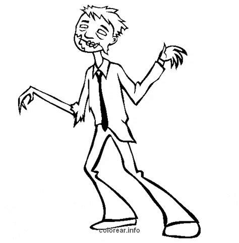 imagenes de zombies reales para colorear dibujos disfraces zombie