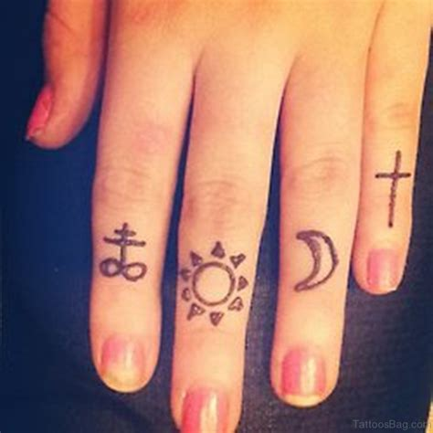 finger tattoos tumblr cross finger tattoos www pixshark images