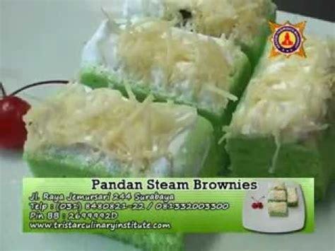cara membuat steam cheese cake cara mudah membuat pandan steam brownies youtube
