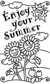 summer coloring pages summer coloring pages