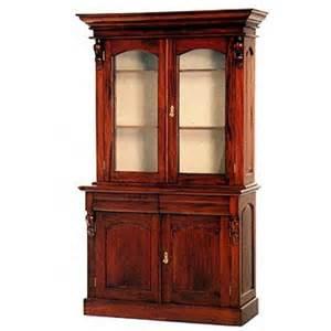 victorian style glazed cabinet