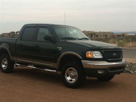 Ford F150 Lariat 2002 4 Door by Sell Used 2002 Ford F 150 Xlt Crew Cab 4 Door 5 4l