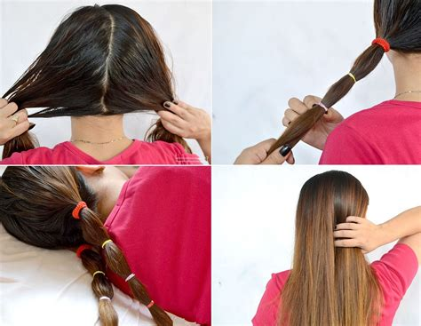 hairstyles for straight hair without heat ideas to straight your hair without straightener