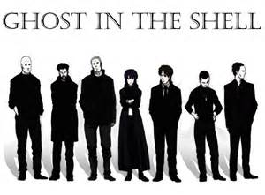 section nine ghost in the shell the thing about geeks pinterest