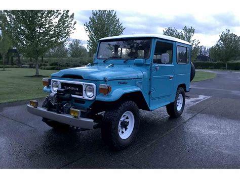 Cars Similar To Fj Cruiser by 1980 Toyota Land Cruiser Fj For Sale Classiccars