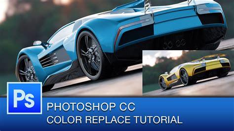 photoshop color replacement tool photoshop cc tutorial