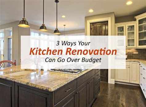 where your money goes in a kitchen remodel homeadvisor 3 ways your kitchen renovation can go over budget