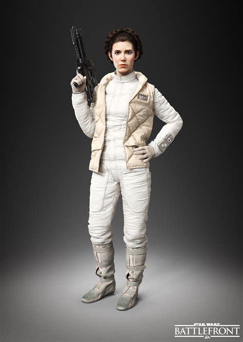 Princess Leia Organa Starwars Wars Battlefront Adds Emperor Palpatine Princess