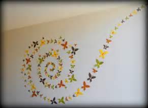 set of 100 3d handmade butterfly wall artwall by mydreamdecors