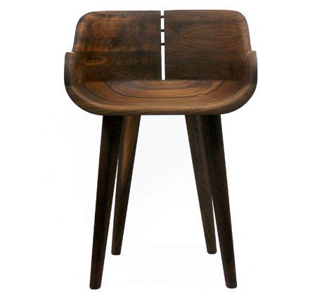 kurf walnut counter stool organic modernism s counter stool kurf b