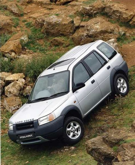 land rover freelander road parts freelander attains heritage status