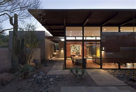Brown Home by Spacious Desert Home In Arizona The Brown Residence