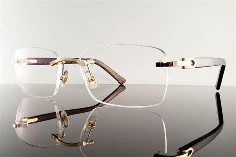 cartier authentic cartier eyeglasses arezzo t8100928