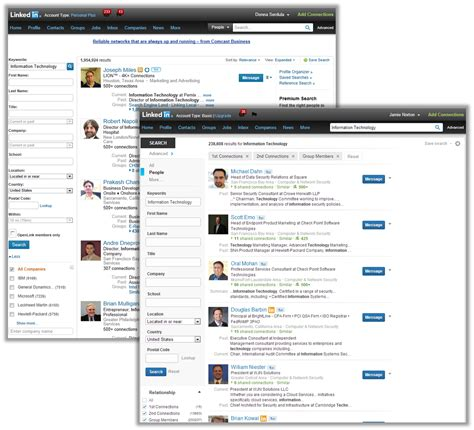 Search For On Linkedin Linkedin Updates The Advanced Search Page