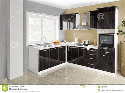 kitchen wooden furniture interior of a modern kitchen wooden furniture simple and