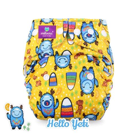 Wetbag Hippo milovia pakket met gratis milovia wetbag wasbare luier