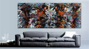 Home Interior Paints Skyfall Large Modern Art Painting James Bond Inspired