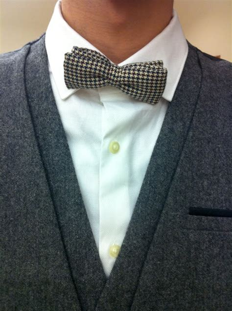 Hnm White Livelong M pandaphilia s streetstyle vibe bow tie