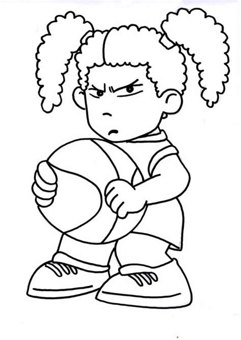 funny basketball coloring pages basketball player coloring pages
