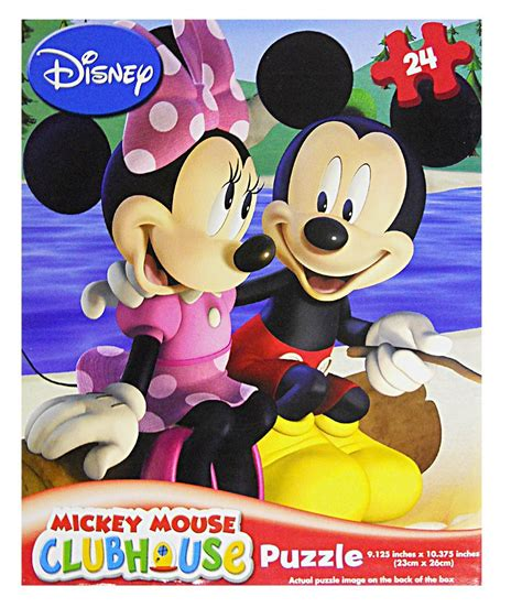Puzzle Mickey Mouse Club mickey mouse clubhouse 24 puzzle assorted styles
