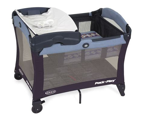Portable Crib With Changing Table Cpsc Graco Children S Products Announce New Safety To Prevent Injuries With