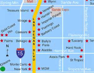 Las Vegas On The Map by Las Vegas Hotel Orleans Hotel And Casino