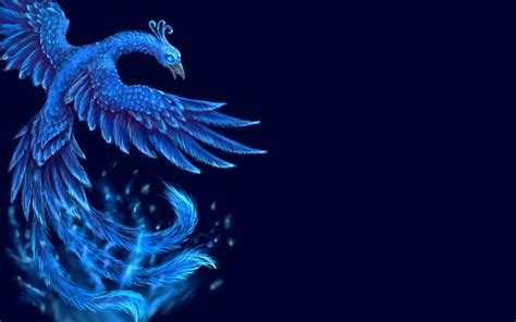 Wallpaper Blue Phoenix | blue phoenix full hd wallpaper and background image