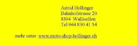Louis Motorrad Shop Wallisellen by News Vom Moto Shop Hollinger