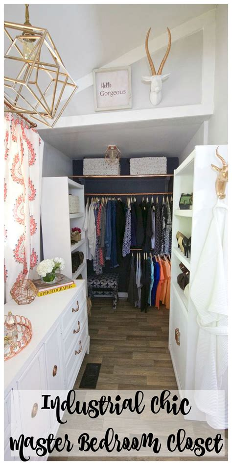 Closet Challenge by Master Bedroom Closet Reveal One Room Challenge 2 Bees