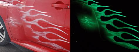 environmentally friendly glow in the paint auto glow paint glowing automotive paint by toxic toad