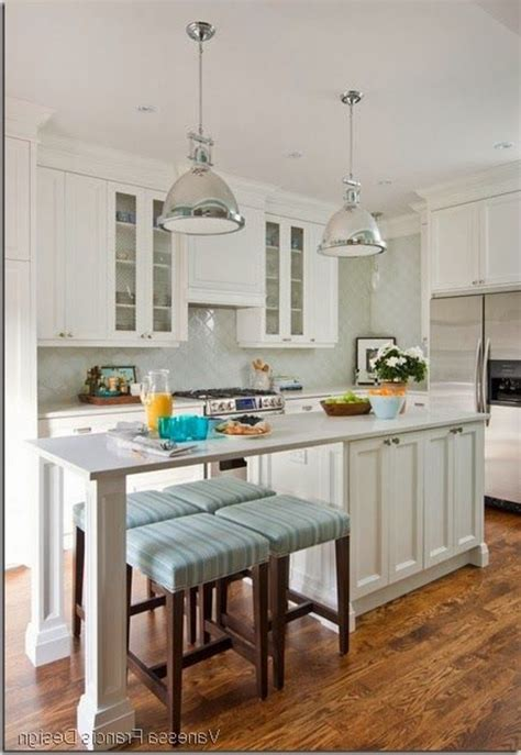 Long Narrow Kitchen Ideas Island Table Islands With