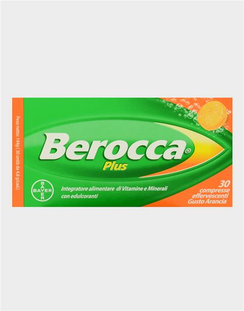 8g supplement tablets berocca plus by bayer 30 effervescent tablets