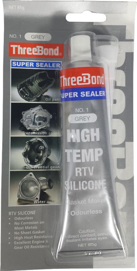 threebond sealer high temp rtv silicone 85g adhesives glues horme singapore