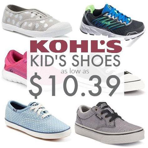 kohl s toddler shoes shoes deals at kohl s as low as 10 39 free store