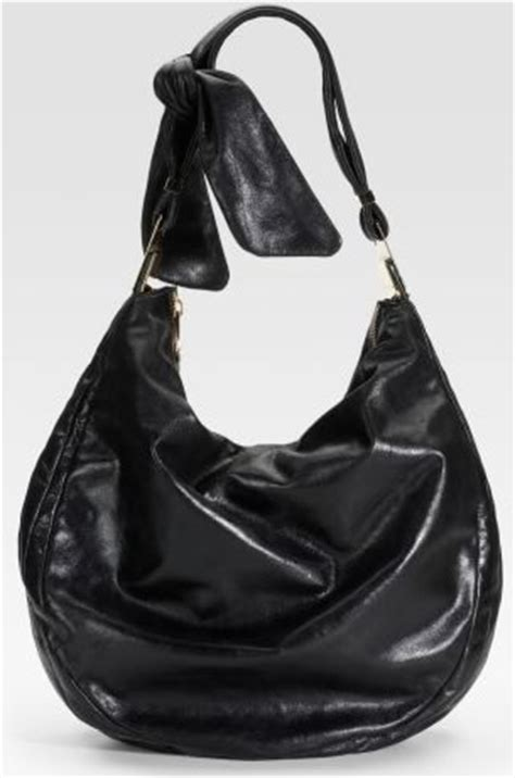 Badgley Mischka Platinum Scarlet Tote by Badgley Mischka Platinum Label Leather Hobo Purseblog