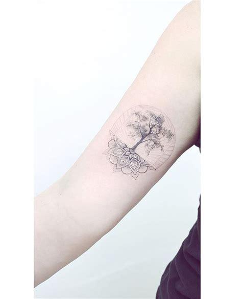 tattoo mandala tree sacred tree tattoos pinterest mandalas snow and