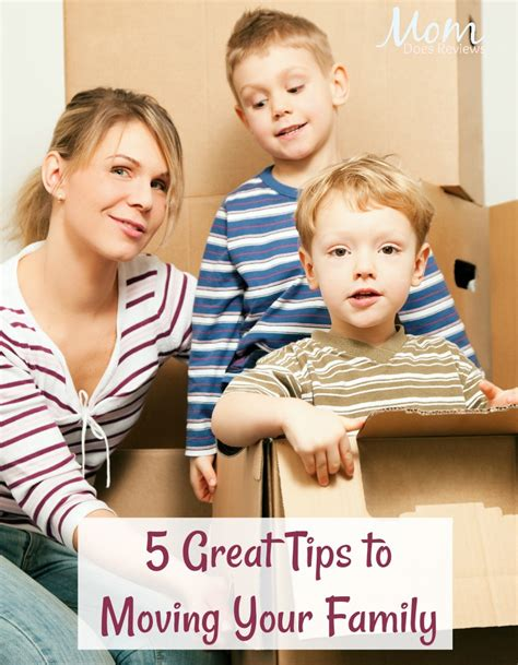 5 great tips to moving your family in 2018