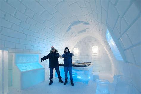 designboom icehotel pinpin studio freezes it s alive art suite for swedish